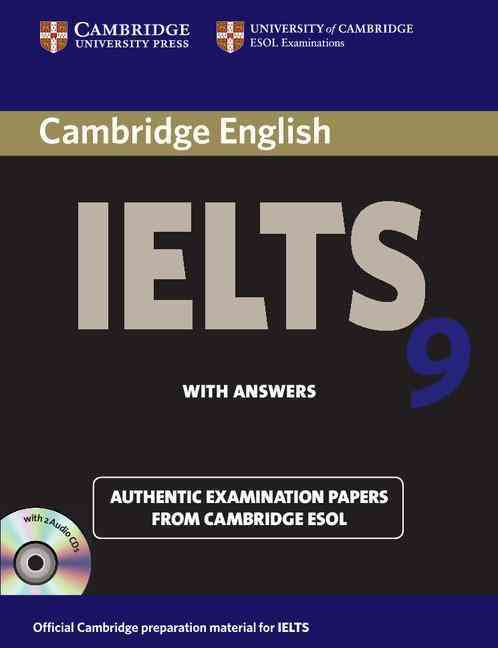 Cambridge IELTS 9 Self-Study Pack Student's Book With Answers + Audio CDs By Cambridge ESOL (COR)
